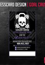 Goal Crushers BusinessCard