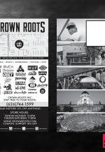 Crown Roots Flyer Design