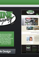 Alpine Graphix Website - Wordpress/Photoshop