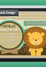 BabyShower InvitationCards - Illustrator