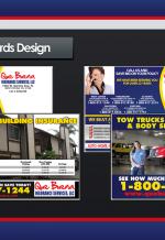 QueBuena Insurance PostCards - Photoshop
