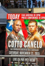 Cotto Vs Canelo - LosAngeles August 24, 2015
