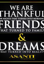AsantiWheels - Thanksgiving Post